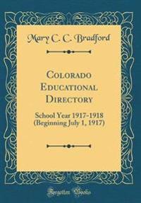 Colorado Educational Directory