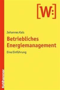 Betriebliches Energiemanagement: Eine Einfuhrung