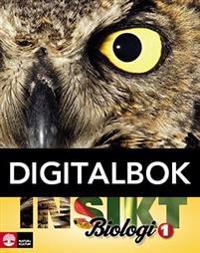 Insikt Biologi Kurs 1 Lärobok Digital (12 mån)