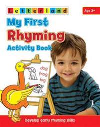 My first rhyming activity book - develop early rhyming skills