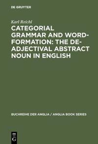Categorial Grammar and Word-formation