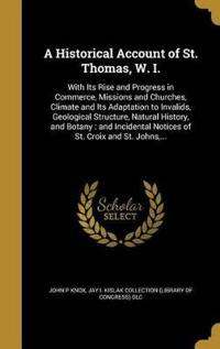 HISTORICAL ACCOUNT OF ST THOMA
