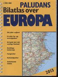 Paludans Bilatlas over Europa, 2013