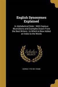 ENGLISH SYNONYMES EXPLAINED