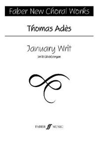 January Writ: Satb, Choral Octavo