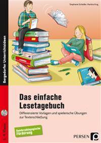 Das einfache Lesetagebuch