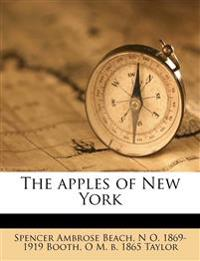 The apples of New York Volume 1