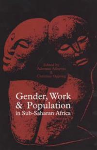Gender, Work and Population in Sub-saharan Africa