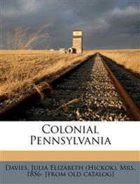Colonial Pennsylvania