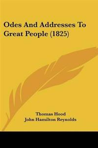 Odes And Addresses To Great People (1825)