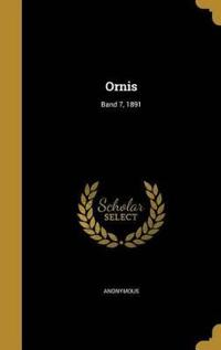 GER-ORNIS BAND 7 1891