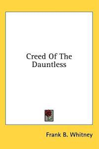 Creed of the Dauntless