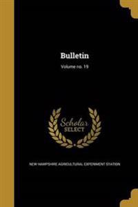 BULLETIN VOLUME NO 19