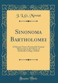 Sinonoma Bartholomei