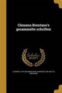 GER-CLEMENS BRENTANOS GESAMMEL