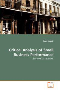 Critical Analysis of Small Business Performance