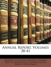 Annual Report, Volumes 38-41