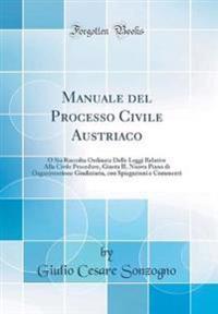 Manuale del Processo Civile Austriaco