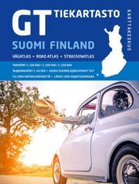 GT Tiekartasto Suomi 2018 1:200 000/1:250 000
