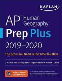 Kaplan AP Human Geography Prep Plus 2019-2020