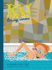 Kaj lär sig simma