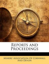 Reports and Proceedings