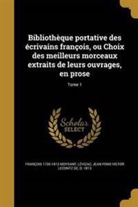 FRE-BIBLIOTHEQUE PORTATIVE DES