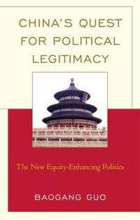 China's Quest for Political Legitimacy