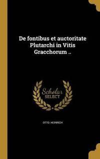 ITA-DE FONTIBUS ET AUCTORITATE