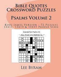 Bible Quotes Crossword Puzzles: Psalms