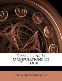 Dissections Et Manipulations De Zoologie...