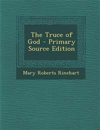The Truce of God - Primary Source Edition