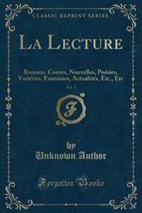 La Lecture, Vol. 1
