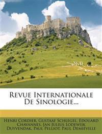 Revue Internationale De Sinologie...