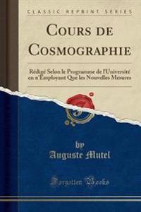 Cours de Cosmographie