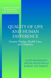 Quality of Life and Human Difference