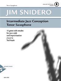 Intermediate Jazz Conception Tenor Saxophone