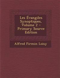 Les Évangiles Synoptiques, Volume 2