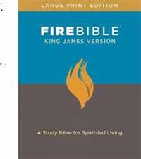 FIRE BIBLE, KING JAMES VERSION, LARGE PR