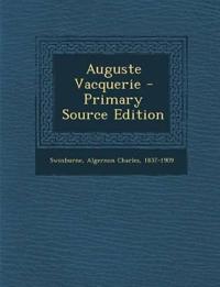 Auguste Vacquerie