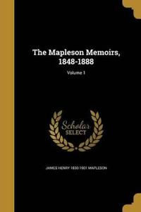 MAPLESON MEMOIRS 1848-1888 V01