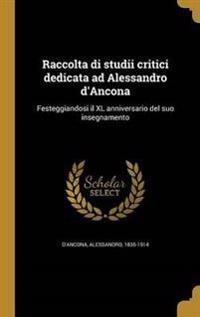 ITA-RACCOLTA DI STUDII CRITICI