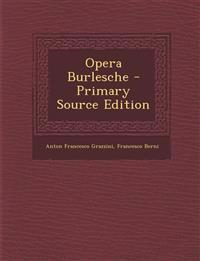 Opera Burlesche