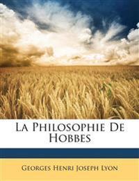 La Philosophie De Hobbes