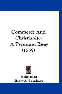 Commerce and Christianity