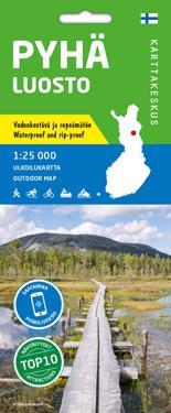 Pyha Luosto Ulkoilukartta 1 25 000 Kirjat Kartta Viikattu