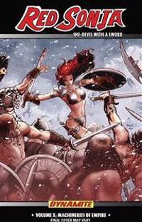 Red Sonja: She-Devil with a Sword Volume 10