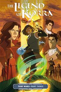 Legend Of Korra, The: Turf Wars Part 3