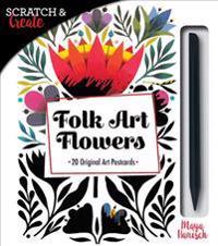 Scratch & Create Folk Art Flowers