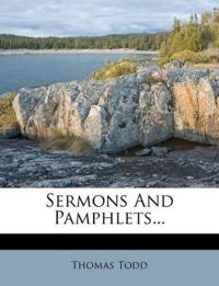 Sermons And Pamphlets...
